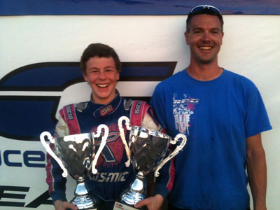 Luke Selliken, and Mike Rolison, win at SKUSA Spring Nats