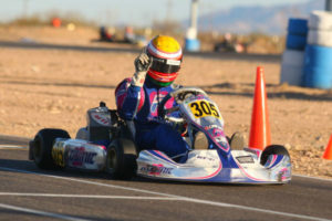 Parker McKean began where he left off at The Challenge in 2012, winning in the Senior Max category (Photo: Sean Buur - Go Racing Magazine)