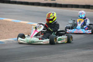 Mini Max driver Sting Ray Robb recorded win number two of the season (Photo: Sean Buur - Go Racing Magazine)