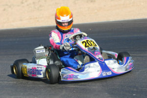 Luke Selliken won both Junior Max feature races last year in Phoenix (Photo: Sean Buur - Go Racing Magazine)
