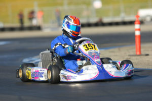 Phillip Arscott secured the Senior Max championship and his third ticket to the Rotax Grand Finals (Photo: Sean Buur - Go Racing Magazine)