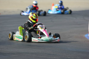 Sting Ray Robb added a third victory on the season to win the Mini Max title and ticket to Mini Max Invitational event (Photo: Sean Buur - Go Racing Magazine)