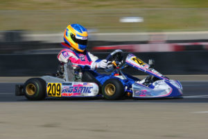 Blaine Rocha dominated the Junior Max field in Fontana to clinch his first Challenge title (Photo: Sean Buur - Go Racing Magazine)