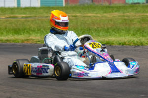 Luke Selliken earned wins five and six of the Can-Am Karting Challenge to secure the Rotax Junior title (Photo: Sean Buur - Can-Am Karting Challenge)