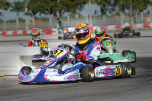 Austin Versteeg drove to a third place finish in the Junior Max category (Photo: Ken Johnson - Studio52.us)