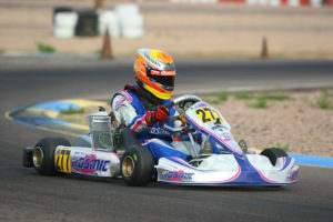RPG Junior Max driver Austin Versteeg drove to his second victory of the Challenge series (Photo: SeanBuur.com)