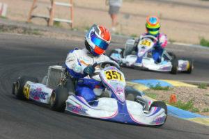 Senior Max champion Phillip Arscott scored his first win, extending his point lead (Photo: SeanBuur.com)