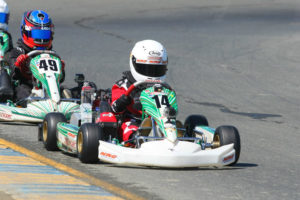 Josh Pierson recorded his first Challenge podium in Micro Max placing runner-up in a photo finish during Saturday's main event (Photo: SeanBuur.com)