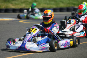Victory in Sunday's Junior Max main event gave Austin Versteeg the series title (Photo: SeanBuur.com)