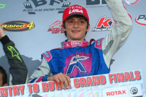 Austin was awarded a 2014 Rotax Grand Finals ticket with the Junior Max championship at the Challenge (Photo: SeanBuur.com)
