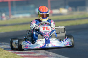 Fighting back in both main events, Austin Elliott drove to top-11 finishes in the competitive TaG Senior division (Photo: On Track Promotions - otp.ca)