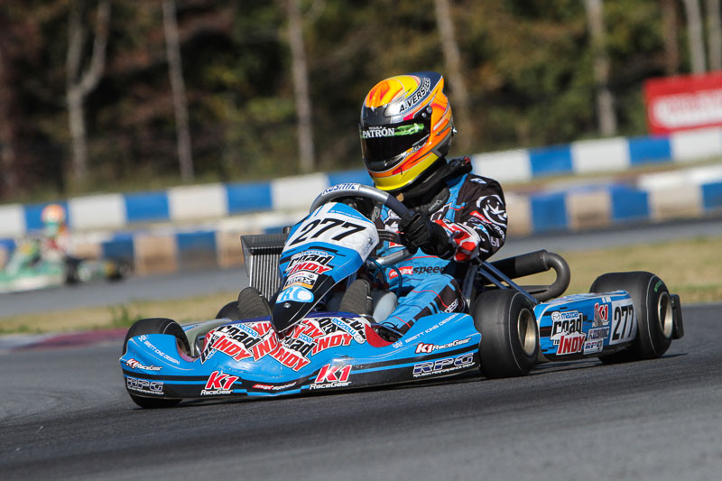 Austin Versteeg gave Rolison Performance Group victory at the Rotax Pan American Challenge (Photo: Studio52.us)