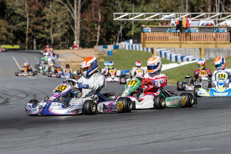 Luke Selliken started the Senior Max Final on the pole position (Photo: Studio52.us)