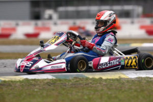 Caio Collett added his first Florida Winter Tour podium, coming from 48th after qualifying to an amazing third during a wet Saturday in Orlando (Photo: Cody Schindel / CanadianKartingNews.com)