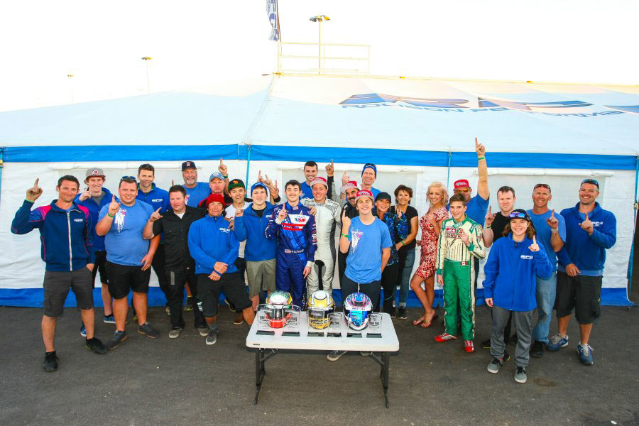 Mike Rolison's RPG squad is off to a great start to the 2016 season, achieving success on the Florida Winter Tour, Challenge of the Americas and Superkarts! USA ProKart Challenge (Photo: SeanBuur.com)
