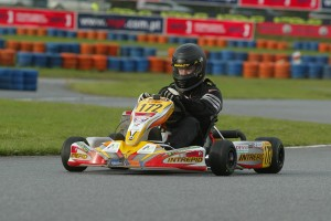 Rolison competing at the 2006 Rotax Grand Finals in Portugal (Photo: EKN)