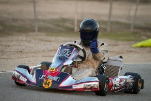 Roli opened up his California ProKart Challenge debut with a victory in X30 Master (Photo: DromoPhotos.com)