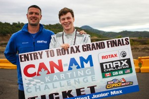 Many of the top west coast drivers compete at the Can-Am series, with Rotax Grand Finals tickets up for grabs in Junior and Senior Rotax (Photo: SeanBuur.com)