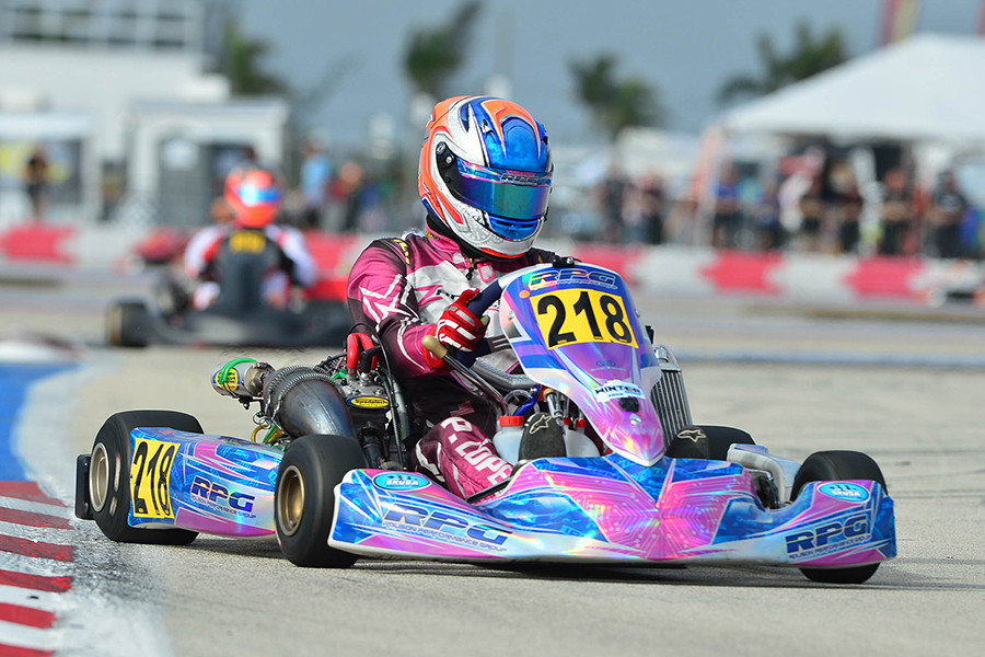 Brazilian Pedro Lopes made his Stock Honda debut with Rolison Performance Group, placing runner-up in the S2 category both days (Photo: On Track Promotions - otp.ca)