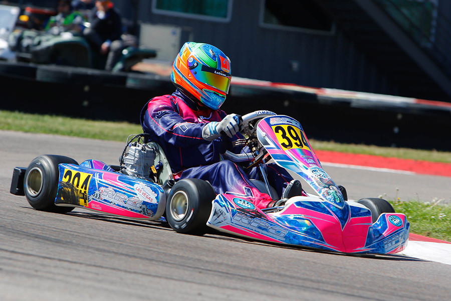 Samuel Lupien earned his first SKUSA Pro Tour podium in X30 Senior (Photo: On Track Promotions – otp.ca)