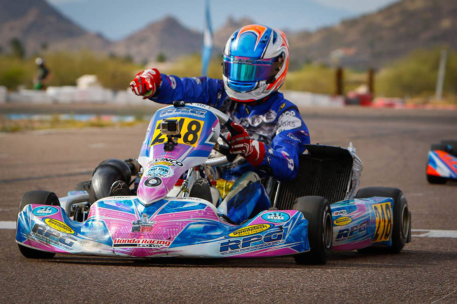 Pedro Lopes made it four-for-four in the S2 Semi-Pro division at the SKUSA Pro Tour (Photo: On Track Promotions - otp.ca)
