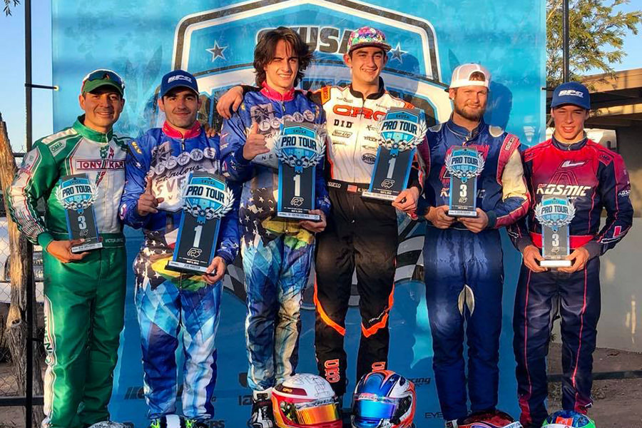 The Rolison Performance Group operation is coming off nine podiums and four victories at the recent Superkarts! USA Pro Tour SpringNationals in Glendale, Arizona (Photo: RolisonPerformanceGroup.com)